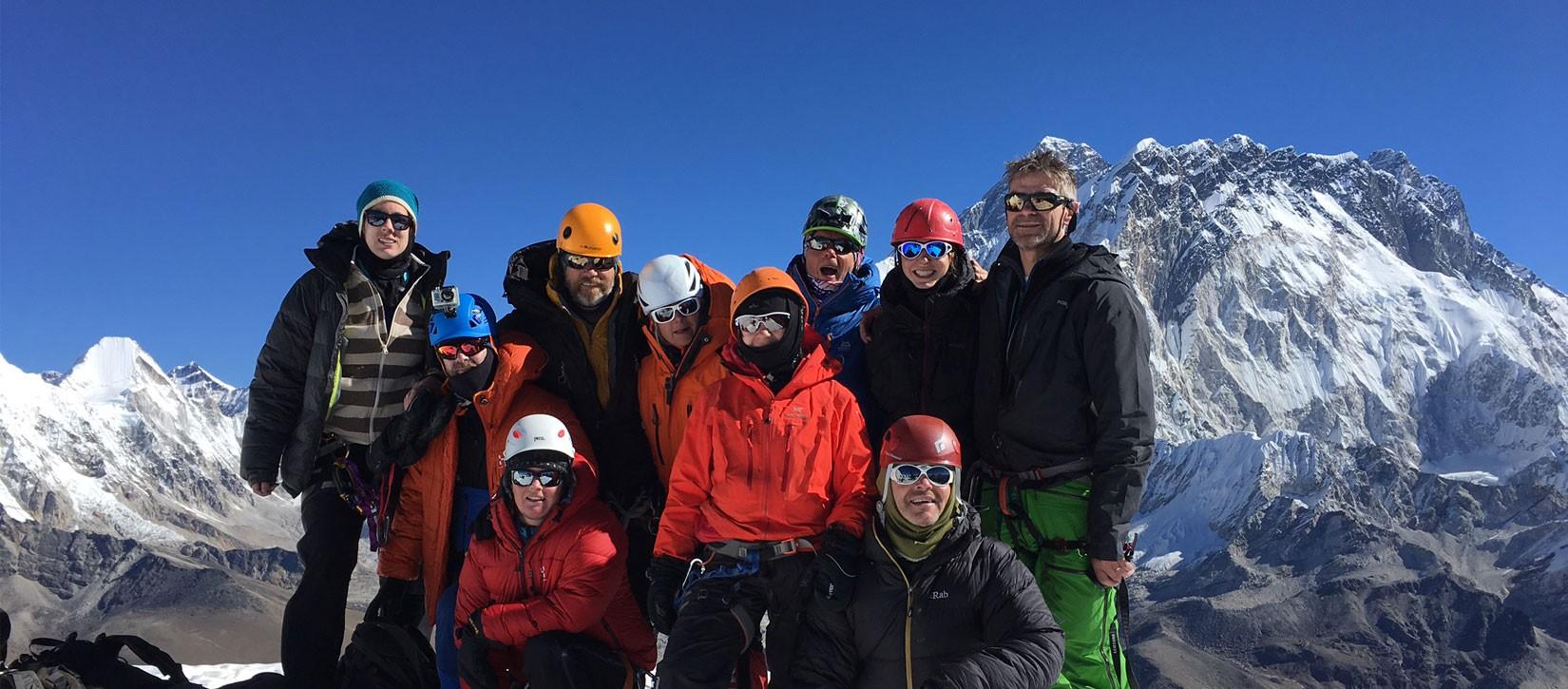 Lobouche Peak