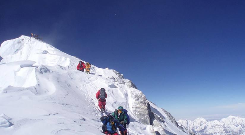 Mount Everest North
