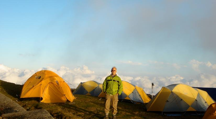 Camping at Phalut, Darjeeling