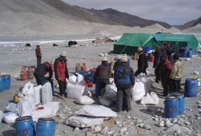 Everest Base Camp - Tibet side