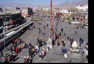 Lhasa- Barkhor Market